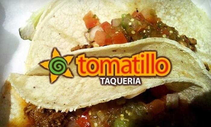 Tomatillo Taqueria - Dupont Circle: $5 for $10 Worth of Tacos and Burritos at Tomatillo Taqueria