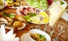 Dining Delicacies: $49 for a Personalized Four-Course Appetizer-and-Dessert Party for Four from Dining Delicacies ($125 Value)