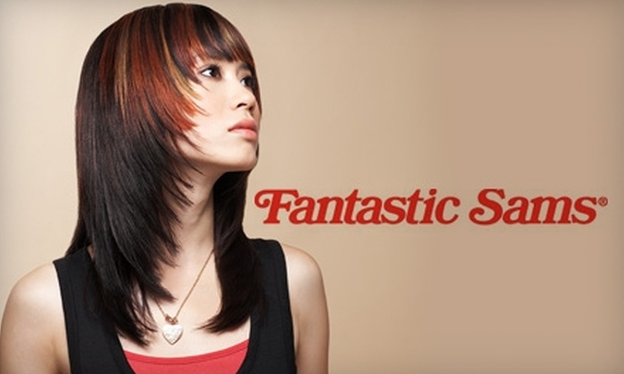 Fantastic Sams - Carmine - Parkmont: $17 for Either Two Basic Haircuts or One Full-Service Cut at Fantastic Sams (Up to $35.90 Value)