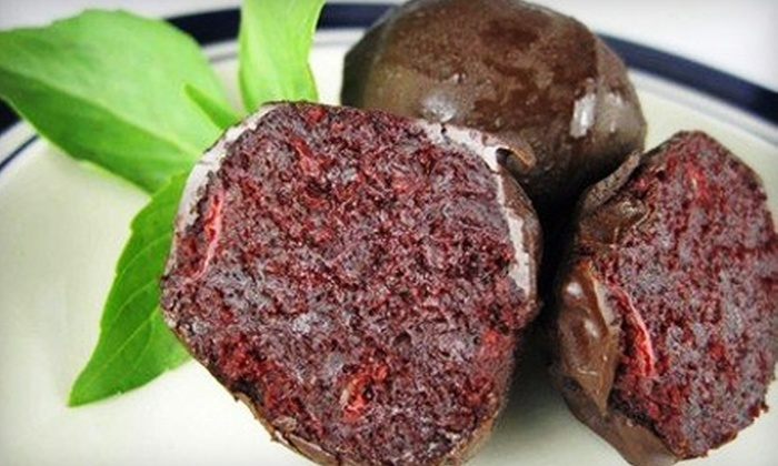 The Truffle Cake Co. - Gainesville: $15 for a Dozen Red-Velvet-Cake Truffles from The Truffle Cake Co. (Up to $30 Value)