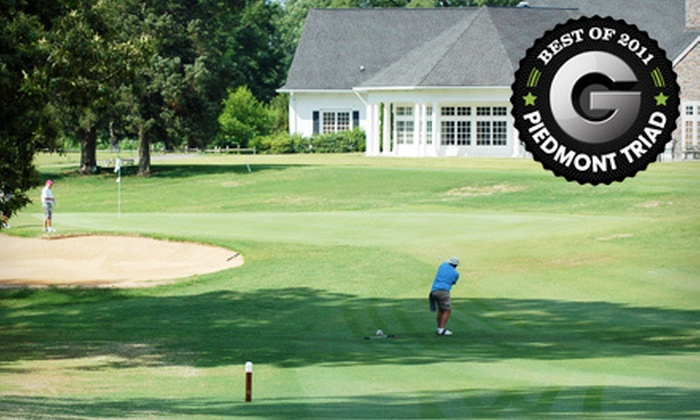 Pine Brook Country Club - Pinebrook Country Club: Golf Outing with Cart and Range Balls for Two or Four at Pine Brook Country Club in Winston-Salem (Up to 57% Off)