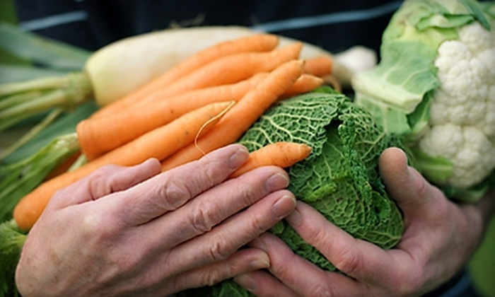 Suburban Organics: $19 for a Small Box of Delivered Organic Produce from Suburban Organics ($39 Value)