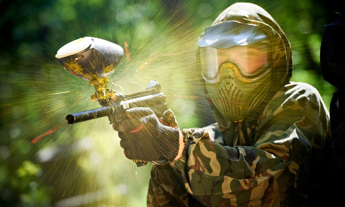 Warzone Paintgames - Sylvania: All-Day Paintballing Package for 4, 6, or 12 at Warzone Paintgames in Sylvania (Up to 86% Off)