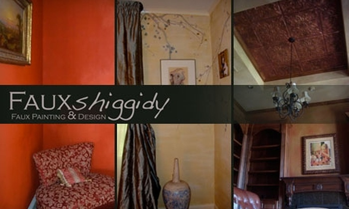 FAUXshiggidy - New Orleans: $129 for Seven Hours of Interior-Design Services and 20% Off Follow-Up Services at Fauxshiggidy ($300 Value)