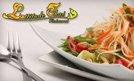 $20 Groupon to LAttitude Thai - LAttitude Thai in Santa Monica