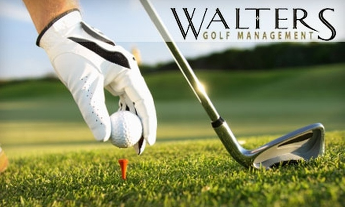 Walters Golf Management - Multiple Locations: 18 Holes of Golf for Two with a Cart at One of Four Courses Run by Walters Golf Management