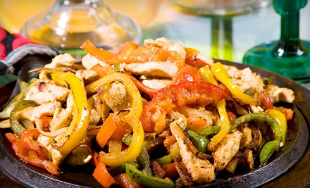 "Mexican Dinner and Bottomless Margaritas for Two or Four Sundaya€""Wednesday or Thursdaya€""Saturday at Fiesta (Up to 54% Off)"