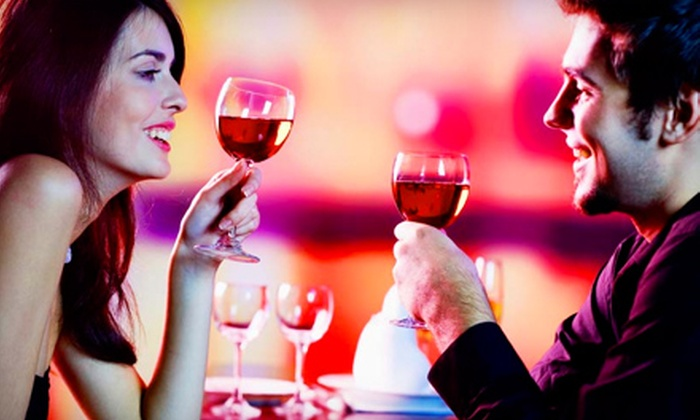 Shiraz Wine Experience and Art Cafe - Carmel: $19 for a Wine Tasting and Flatbread Pizza for Two at Shiraz Wine Experience and Art Cafe in Carmel (Up to $38 Value)