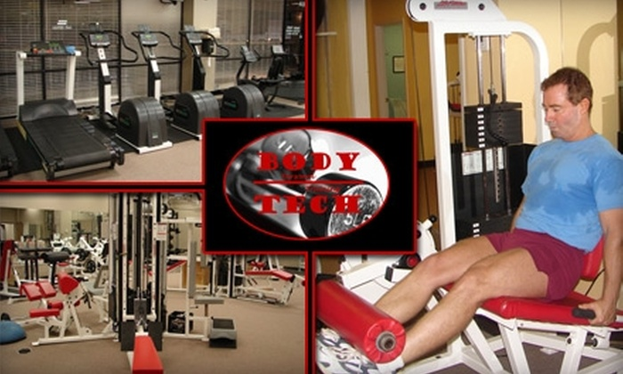 Body Tech - North Dallas: $40 for Two-Month Gym Membership with One Personal-Training Session at Body Tech ($118 Value)