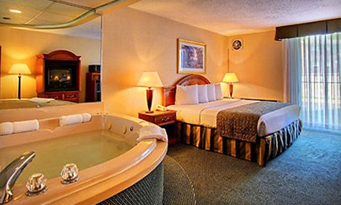 Quality Inn  - Troy: Date-Night Package in a Jacuzzi Room or Business-Traveler Package in a King Room at the Quality Inn in Troy (Up to 48% Off)