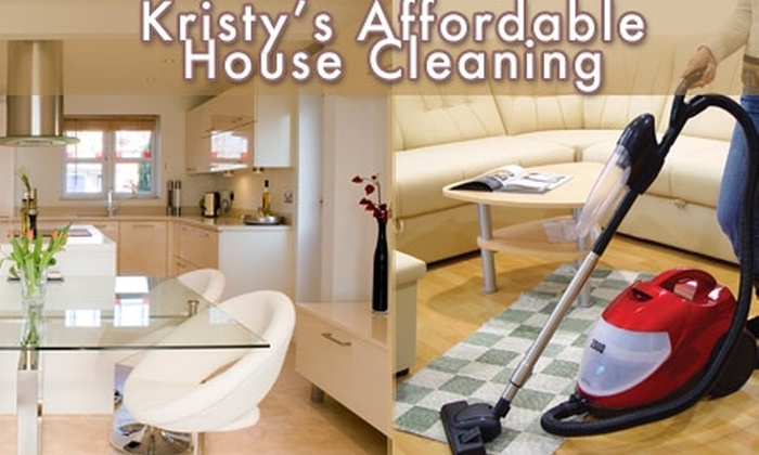 Kristy's Affordable Housecleaning - Nashville: $35 for a Home-Cleaning Service from Kristy's Affordable House Cleaning (Up to $90 Value)