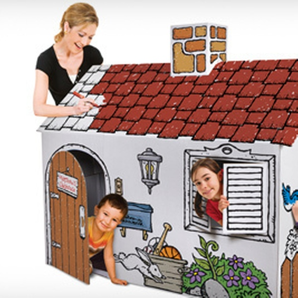 $19 for a Discovery Kids Color Me Playhouse, Play Castle, Lemonade Stand,  or Cardboard Rocket Ship ($39.99 Value)