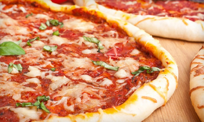 Brooklyn Pizza Works - Placentia: $15 for Italian Dinner for Two at Brooklyn Pizza Works in Placentia (Up to $31.85 Value)