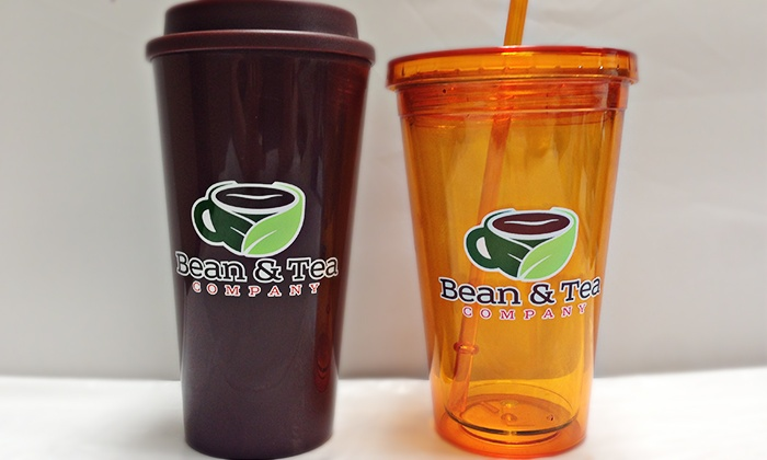 Bean and Tea Company - Multiple Locations: $15.99 for 16-Ounce Mug with One Month of Unlimited Coffee or Tea at Bean and Tea Company ($86.49 Value)