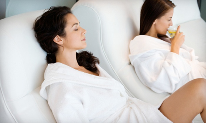 Planet Beach Contempo Spa - Multiple Locations: $35 for One Week of Unlimited Spa Services and One Mystic Tan at Planet Beach Contempo Spa