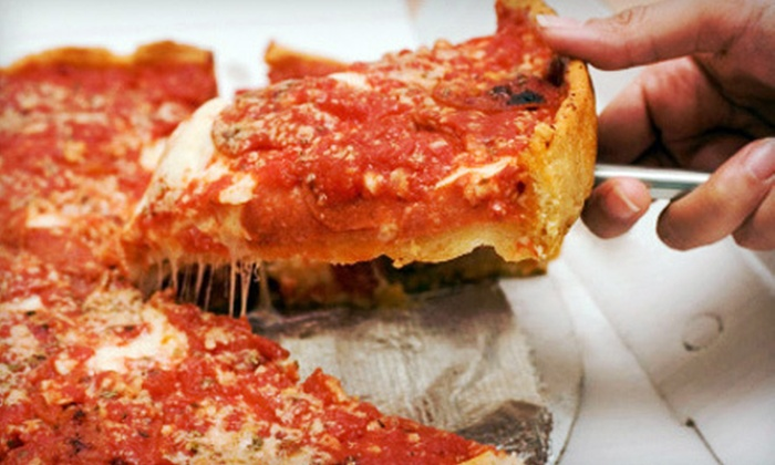 Ang an Eddie's Premium Chicago Style Pizza - Fond du Lac: Pizza Meal or $8 for $16 Worth of Pizza at Ang an Eddie's Premium Chicago Style Pizza in Fond du Lac