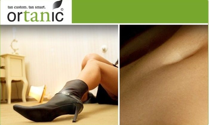 Ortanic - Near North Side: $25 Natural-Looking Airbrush Tan at Ortanic ($45 Value)