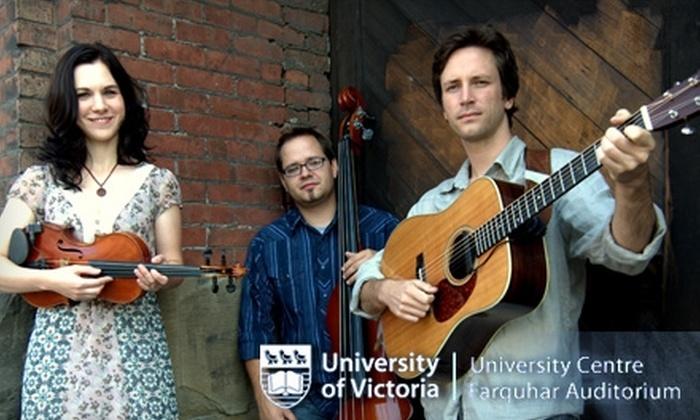 """University Centre Farquhar Auditorium - Victoria: $14 for a Ticket to April Verch, Ivan Coyote, or """"Dark Side of the Moon"""" Live at University Centre Farquhar Auditorium"""