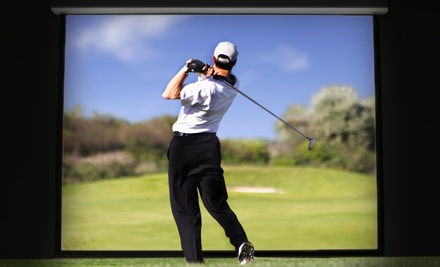 Simulated-Golf Package, Valid Monday-Thursday - Conrads Restaurant & Alehouse in Liberty