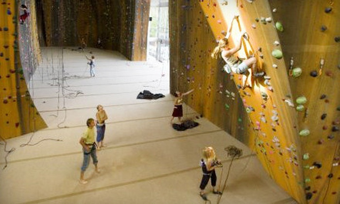 Momentum Indoor Climbing - Sandy: Indoor-Rock-Climbing Day Pass or One- or Three-Month Membership at Momentum Indoor Climbing in Sandy (Up to 72% Off)