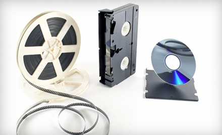 3 VHS, Super 8, or Hi8 Tapes Transferred to DVD (a $60 value) - Glory Years in Cincinnati
