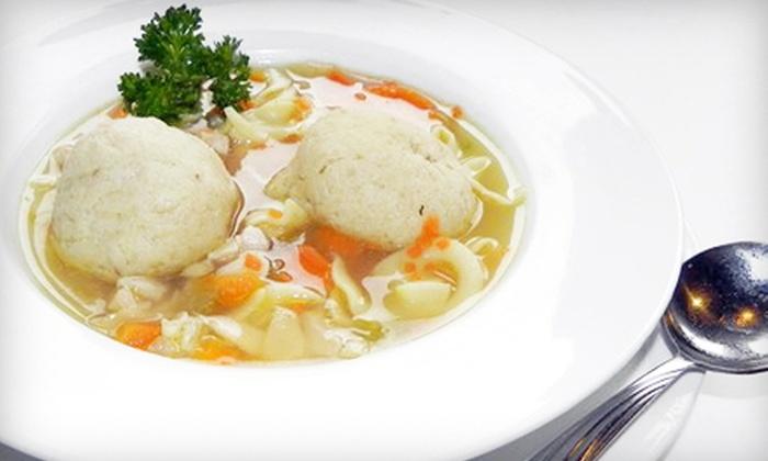 Rubin's Kosher Restaurant - Coolidge Corner: $12 for $24 Worth of Deli Fare at Rubin's Kosher Restaurant in Brookline