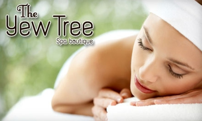 The Yew Tree Spa Boutique - Central London: $49 for a 30-Minute Vitamin Boost Facial and a 60-Minute Relaxational Massage at The Yew Tree Spa Boutique ($105 Value)