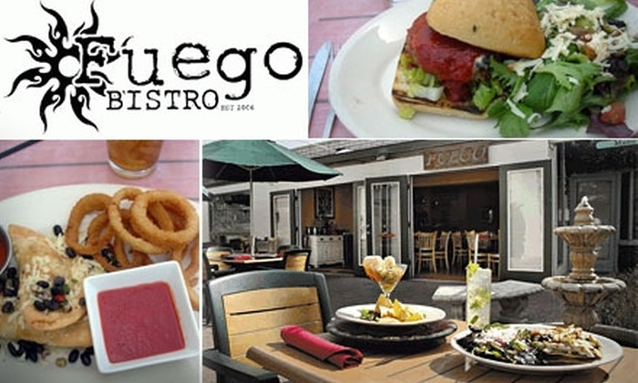 Fuego Bistro - Camelback East: $10 for $30 Worth of Latin-Southwestern Fusion Cuisine and Drinks at Fuego Bistro