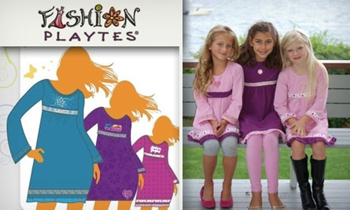 Fashion Playtes - Chicago: $25 for $50 Worth of Custom-Designed Girls' Clothing at Fashion Playtes