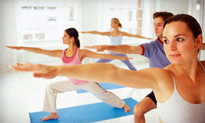 Purple Om Yoga - Denville: Five Yoga Classes or an Unlimited Month of Yoga at Purple Om Yoga in Denville