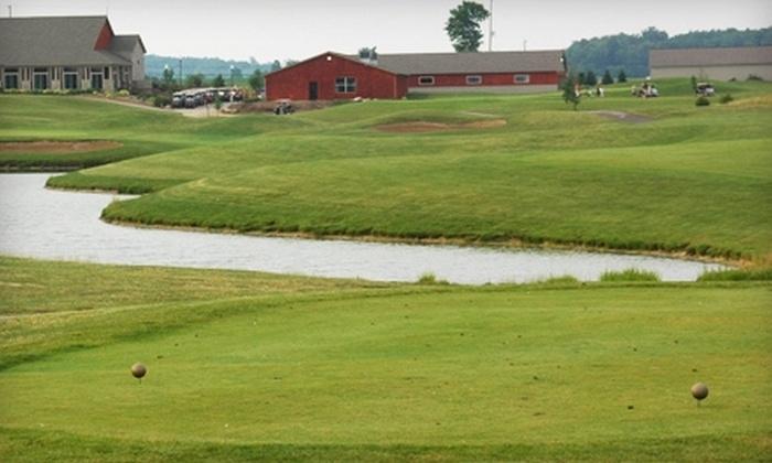 Copper Ridge Golf Club - Davison: $40 for Two 18-Hole Rounds of Golf, Plus Cart, at Copper Ridge Golf Club in Davison