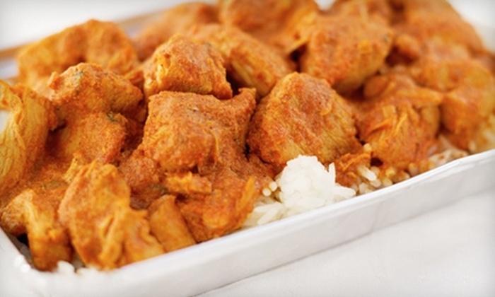 Kabab & Tandoor - South Side: $15 for $30 Worth of Hyderabadi and North Indian Cuisine at Kabab & Tandoor in Waltham