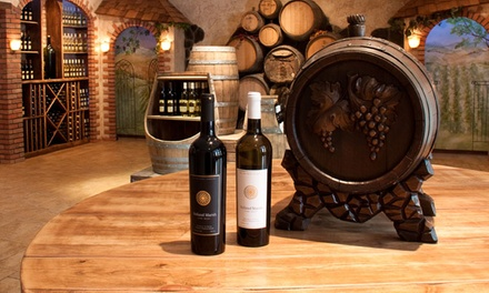 Tour and Tasting with Glass and Truffles for Two or Four at Holland Marsh Wineries (Up to 68% Off)