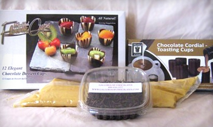 Galleria of Chocolates - Multiple Locations: $49 for DIY Chocolate of the Month Kit from Galleria of Chocolates ($100 Value)