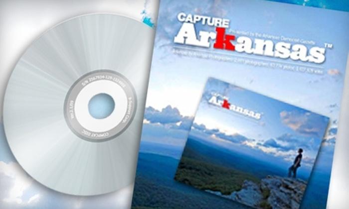 "Arkansas Democrat-Gazette Bookstore: $22 for a ""Capture Arkansas 2010"" Photo Book, Plus a DVD of Additional Photos from the ""Arkansas Democrat-Gazette"" Bookstore ($45 Value)"
