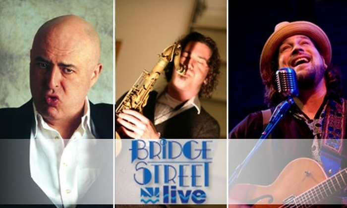 Bridge Street Live - Canton: Ticket to Live Music or Comedy Show at Bridge Street Live. Choose from Three Options.