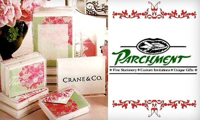 Parchment - Doctor Phillips: $25 for $50 Worth of Stationery and Gifts at Parchment