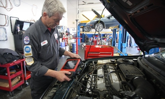 AAMCO Auto Care Super Saver - Multiple Locations: $40 for a Car-Care Package Including Five Oil Changes from Auto Care Super Saver ($79.95 Value).