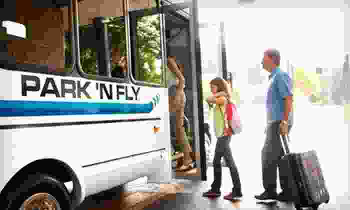 Park 'N Fly - Ontario: Airport Parking for Three, Five, or Seven Days with Shuttle Service at Park 'N Fly in Ontario (Half Off)