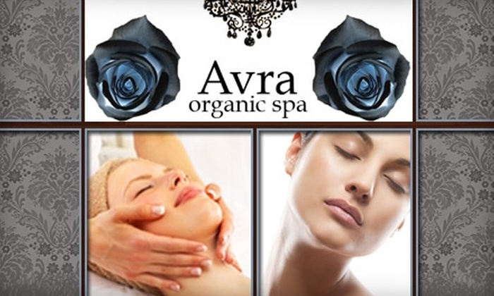 Avra Organic Spa - Fisherman's Wharf: $59 for One of Three Rejuvenating Service Packages at Avra Organic Spa (Up to $140 Value)