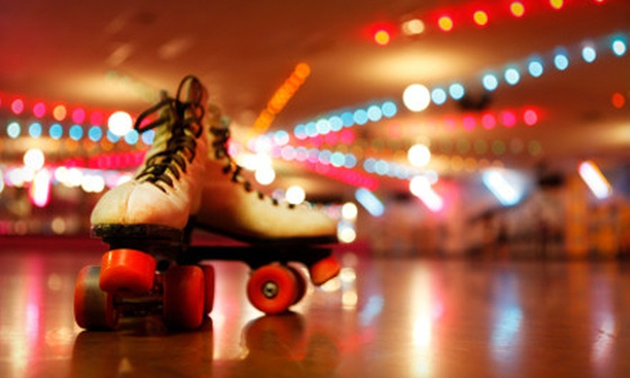 Skateland & Great Skate Glendale - Multiple Locations: Roller-Skating and Pizza Outing for Two or Four at Skateland and Great Skate Glendale (Up to 69% Off)