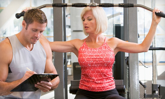 Vie Fitness & Spa - Bach: $75 for a Fitness Package with Personal-Training Sessions and a Fitness Assessment at Vie Fitness & Spa ($320 Value)