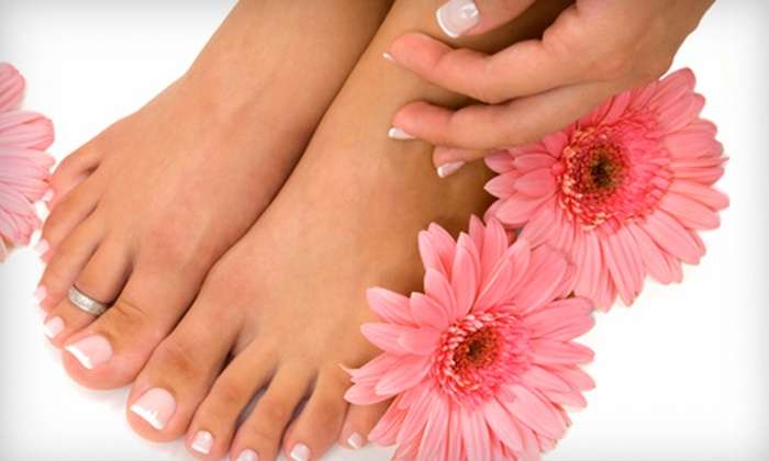 Salon Ilona & Spa - Clifton: Mani-Pedi or Facial at Salon Ilona & Spa in Clifton