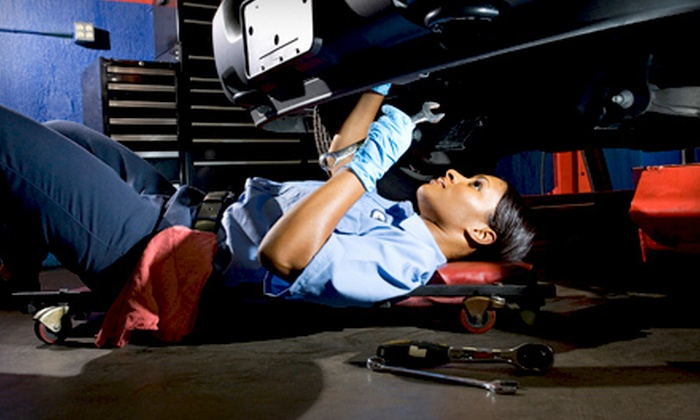Car Care Center - Arden Terrace,Arden Fair: $20 for an Oil Change and a 45-Point Inspection at Car Care Center ($48 Value)