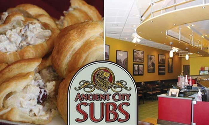 Ancient City Subs - Mandarin: $5 for $10 Worth of Deli-Stuffed Sandwiches and Drinks at Ancient City Subs