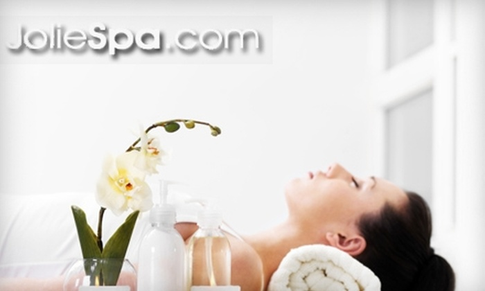 Jolie Salon & Day Spa - Whitpain: Spa and Salon Services at Jolie Salon & Day Spa in Blue Bell. Choose Between Two Options.
