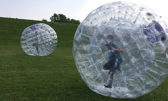 HamsterFun - Multiple Locations: Up to 68% Off Zorbing at HamsterFun