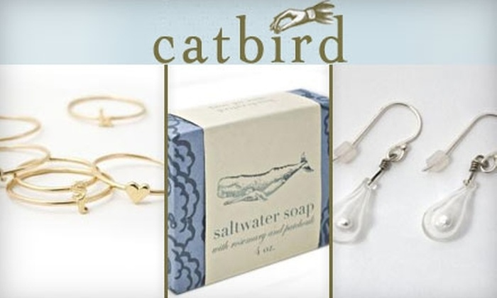 Catbird - Greenpoint: $25 for $50 Worth of Jewelry and Gifts at Catbird