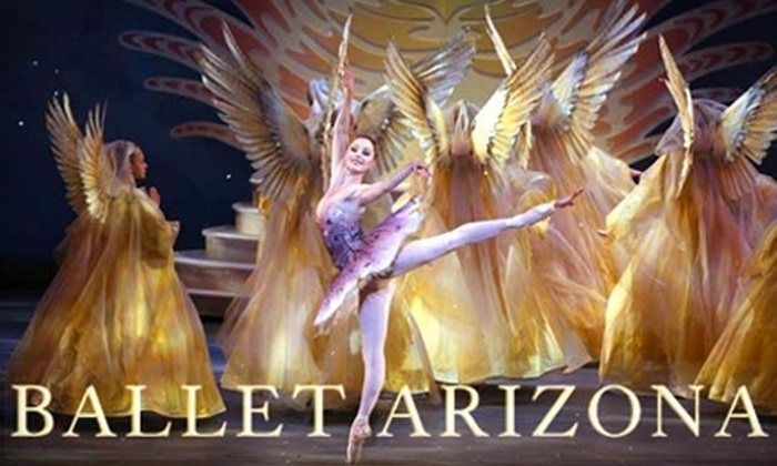 """Ballet Arizona - Downtown Phoenix: $34 for One Ticket to Ballet Arizona's """"The Nutcracker"""" performed with The Phoenix Symphony (up to a $69 value). Choose from Seven Dates."""