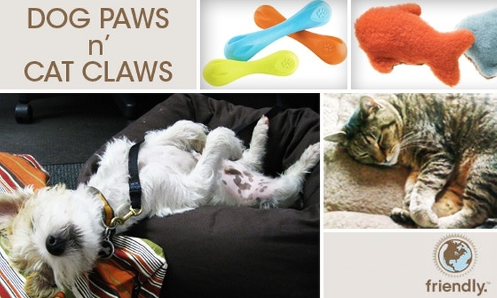 Dog Paws 'n Cat Claws - Barcroft: $50 for $100 Worth of Pet Products, Doggie Daycare, Walks, or Training at Dog Paws 'n Cat Claws